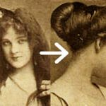 Easy Edwardian Hairstyle in 10 Minutes
