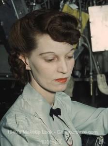 The History Of 1940s Makeup Glamour Daze - 1940-makeup