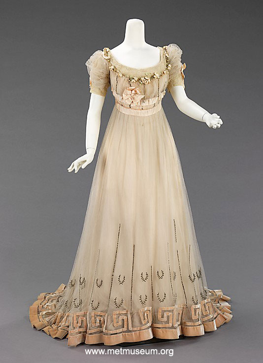 1900\'s Fashion - Edwardian Summer Gowns 1905 | Glamour Daze