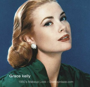 Grace Kelly - the classic 1950s face.