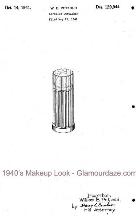 Lipstick-patent-1941