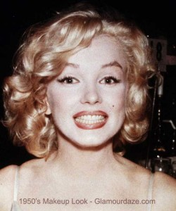 Marilyn-Munroe---1950s-makeup-look