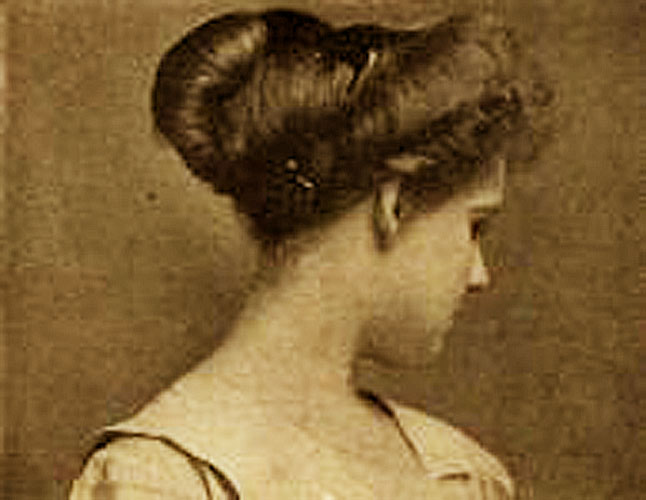 Easy Edwardian Hairstyle In 10 Minutes Glamour Daze