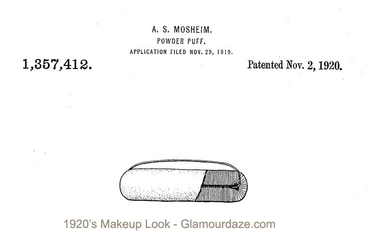 Tre-Jur-makeup-powder-puff-patent-1920