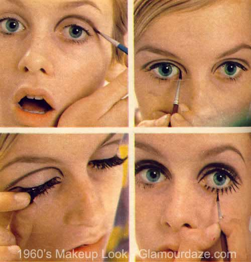 1960's makeup look - Twiggy