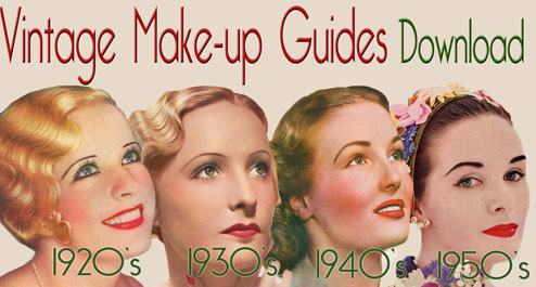 1920's makeup tutorials
