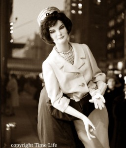 Jackie Kennedy mannequin -1961 New York