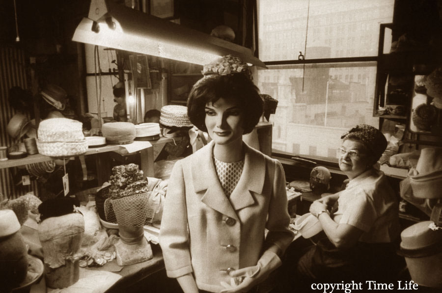 1960s Fashion - The Jackie Kennedy Mannequins 1961 | Glamour