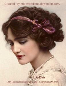 Fantastic The History Of Makeup 1900 To 1919 Glamourdaze Short Hairstyles For Black Women Fulllsitofus