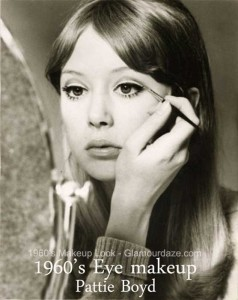 Pattie Boyd - 1960s makeup look