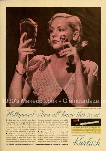 1930s eyelash curler