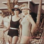 Vintage Swimwear Color Fashion – 1960s.