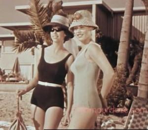 Vintage fashion Swimwear Show - 1960s