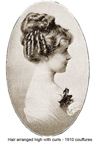 1910-Hairstyles---New-Coiffures-of-the-Summer-Girl - High curls