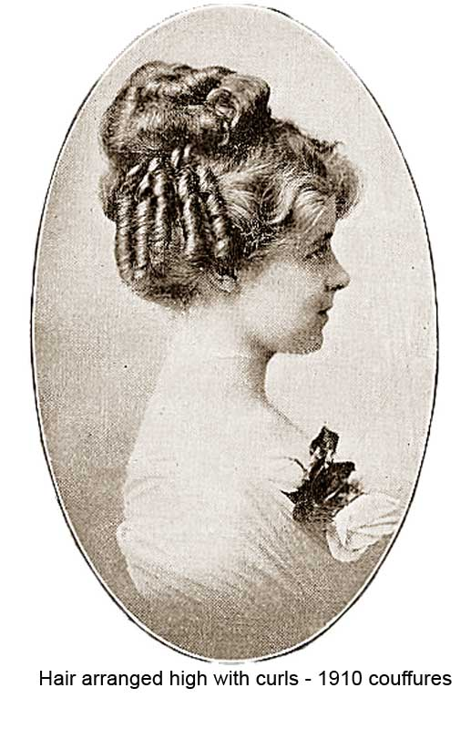 1910 Hairstyles - New Coiffures of the Summer Girl ...