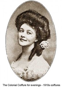 1910-Hairstyles---New-Coiffures-of-the-Summer- The Colonial