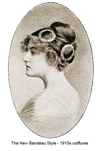 1910-Hairstyles---New-Coiffures-of-the-Summer-Girl - the bandeau style