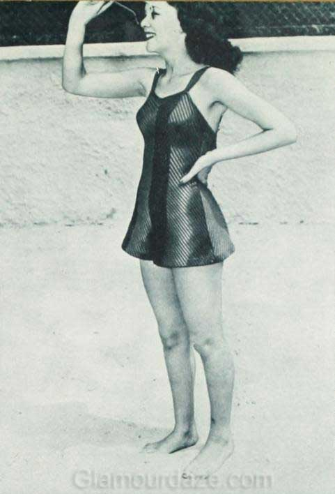 1940's Fashion – Swimwear Styles of the Stars – June 1940 ...
