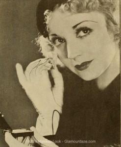 Alice-White--1930s-beauty-tricks