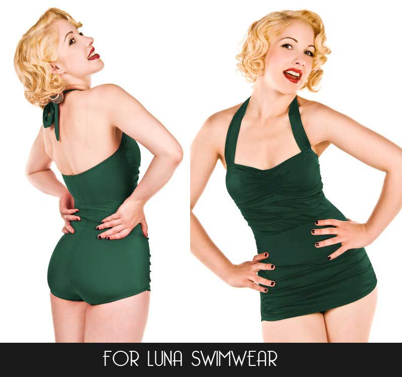 eef73565f3535 For Luna Swimwear - Gorgeous Esther Williams swimsuits