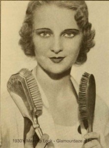 Florine-McKinney -1930s hairstyle