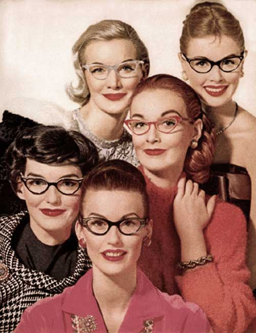 Girls Who Wear Glasses Vintage Advice Glamour Daze