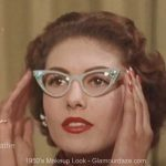 Girls who wear Glasses – Vintage advice.