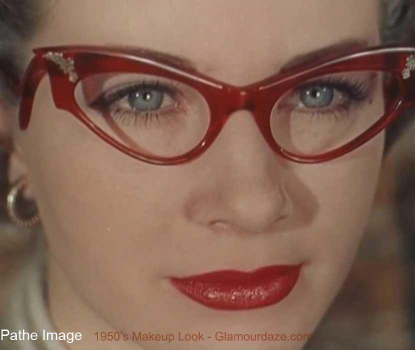 Eyeglass Frames For Hazel Eyes : Girls who wear Glasses Vintage advice. Glamourdaze