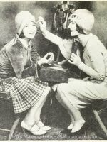 1920's-Makeup--Hollywood-Beauty-Tricks---Eva-Von-Berne-with-Norma-Shearer