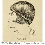 1920s Hairstyles – 12 Classic Bob Cuts