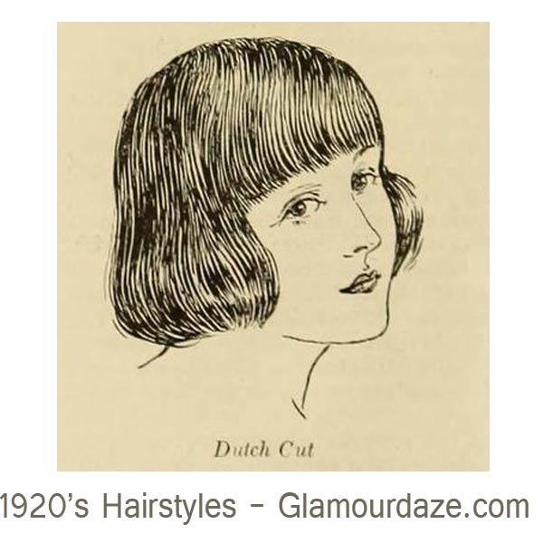 1920s-hairstyles---Dutch-Cut