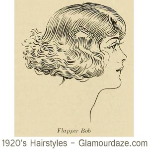 1920s-hairstyles---Flapper-Bob
