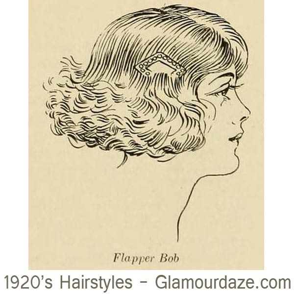 1920s-hairstyles---Flapper-Bobs