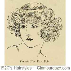 1920s-hairstyles---French-Side-Part-Bob