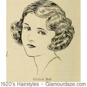 1920s-hairstyles---Girlish-Bob