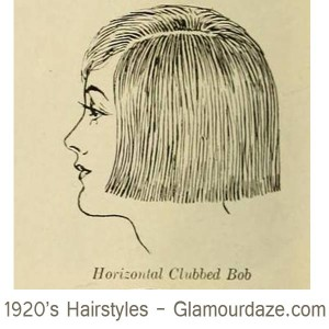 1920s-hairstyles---Horizontal-Clubbed-Bob