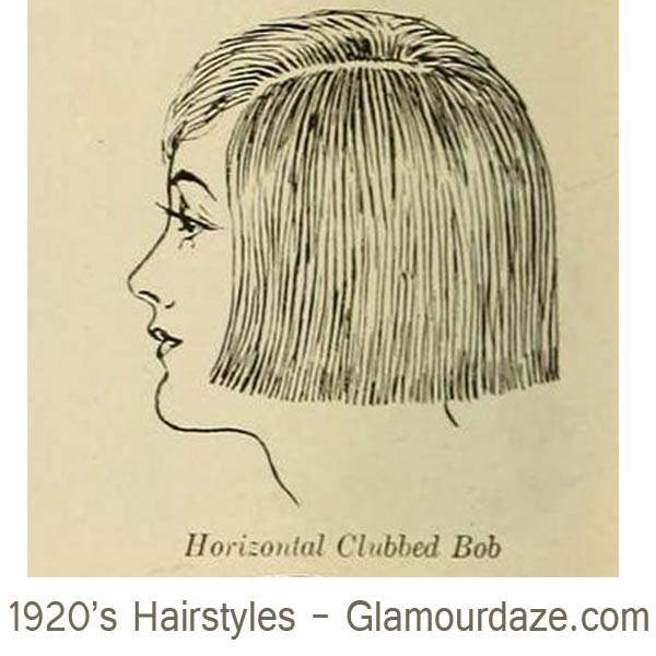 1920s-hairstyles---Horizontal-Clubbed-Bobs