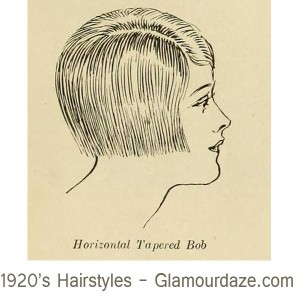 1920s-hairstyles---Horizontal-Tapered-Bob