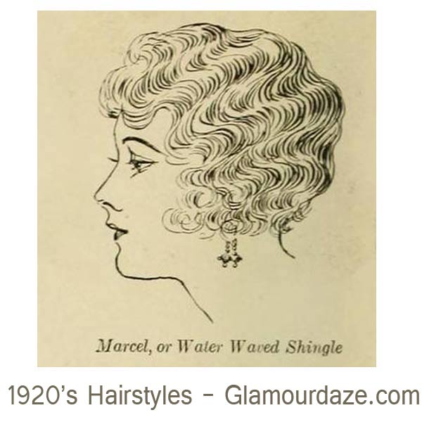 1920s-hairstyles---Marcel-or-Water-Waved-Shingle