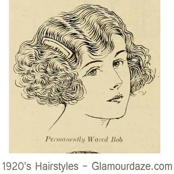 1920s-hairstyles---Permantently-Waved-Bob