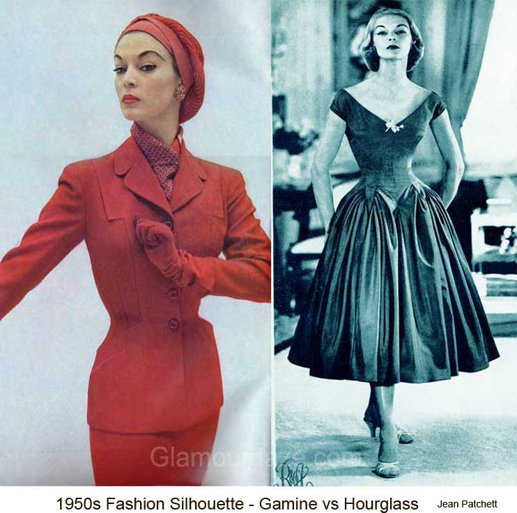 What was the fashion in 1950s 99