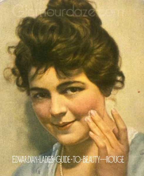 Edwardian Guide To Makeup And Hairstyles Glamour Daze