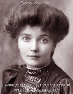 Edwardian-ladies-coiffure---the-French-roll-pompadour
