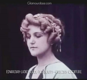 Edwardian-ladies-coiffure---the-Grecian-look