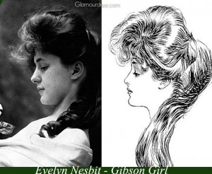 Evelyn_Nesbit-The-Real-Gibson-Roll--hairstyle