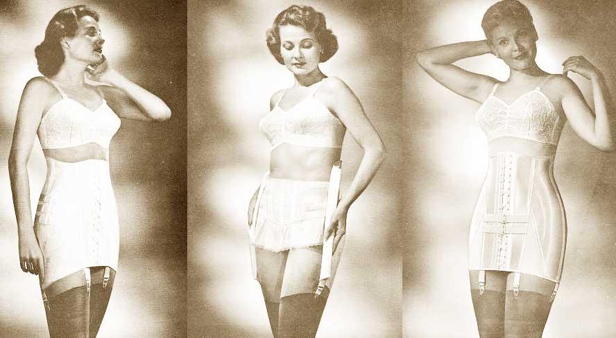 ada6ab5fa8a5 1950s Fashion - The Feminine Figure and Silhouette | Glamour Daze