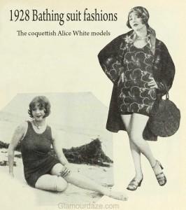 1920s-fashion---Hollywood-swimsuit-styles-1928--Alice-White