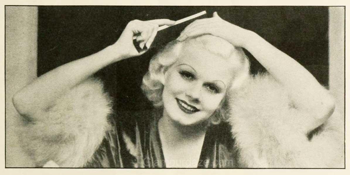 1930s Makeup - The Jean Harlow Look
