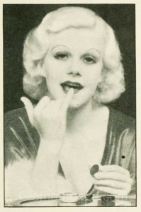 1930s-Makeup---The-Jean-Harlow-Look--lips