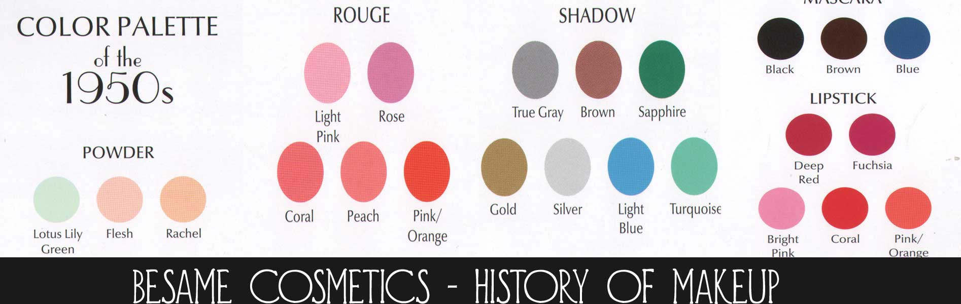The Magic of 1950s Makeup